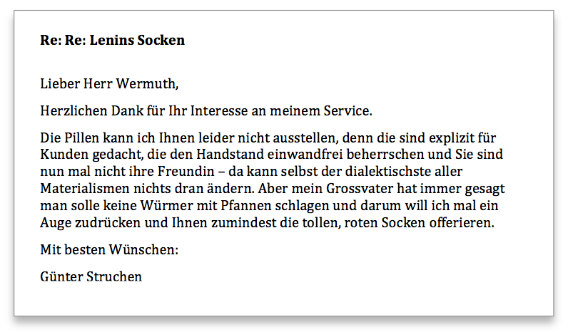 Wermuth Anfrage2
