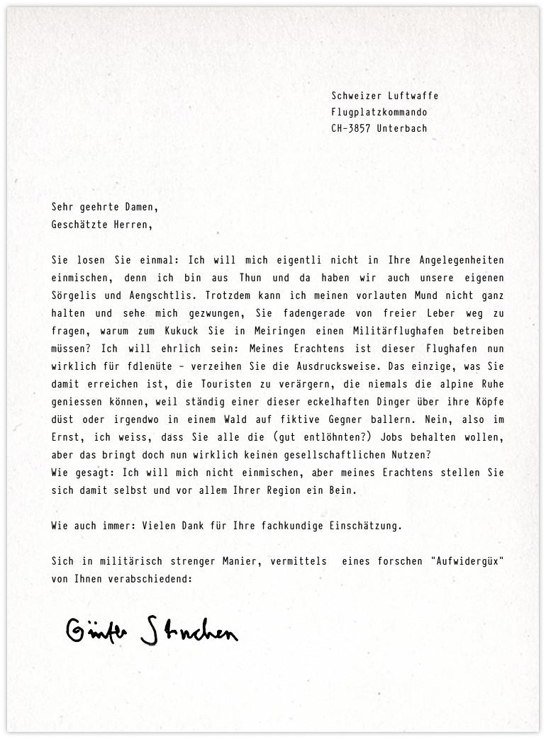 Anfrage Militärflughafen Luftwaffe