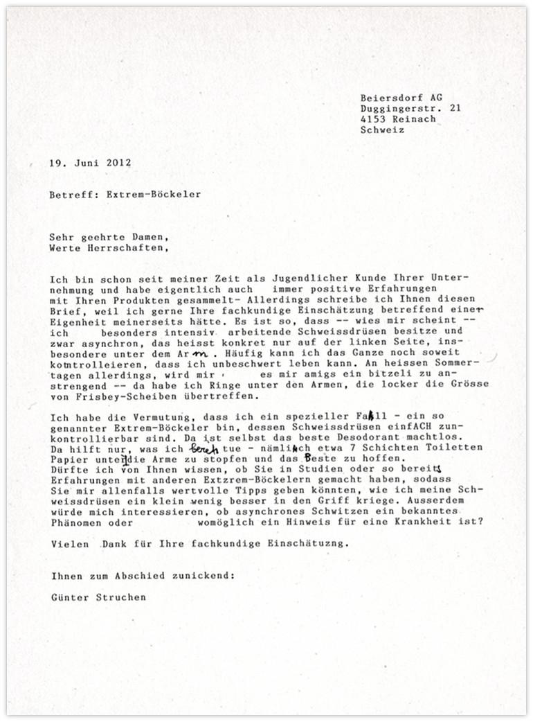 Beiersdorf Anfrage