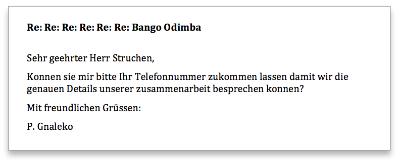 Bango Odimba Antwort 7