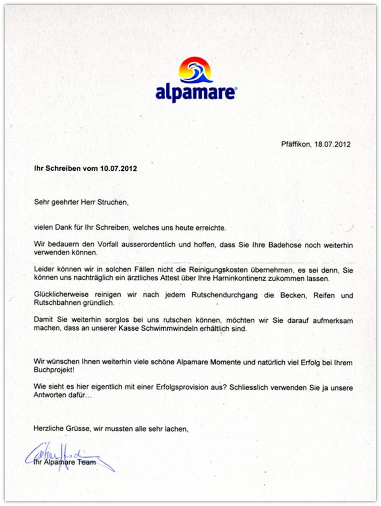 alpamara antwort