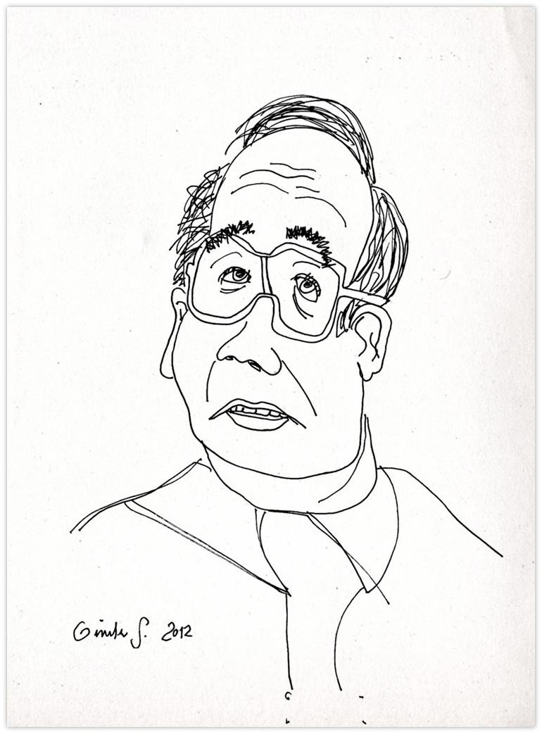 Jean Ziegler Portrait